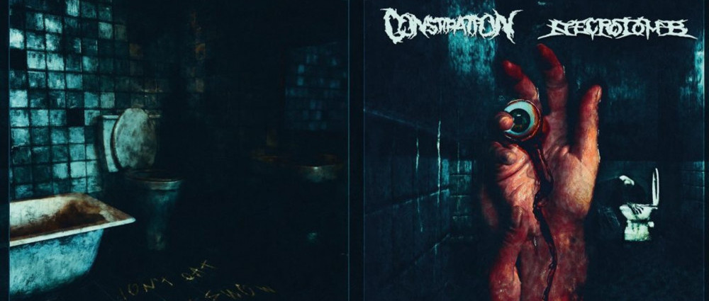CONSTIPATION & NECROTOMB - Fucking Morbid Spitting